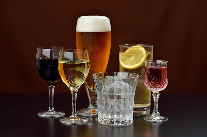 グラスに入ったお酒